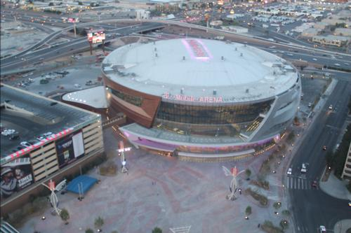 The arena opens on 6 April 2016 with a performance by Vegas ban The Killers / T-Mobile Arena