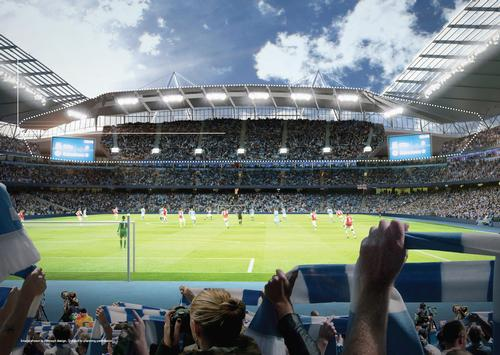Manchester City appoints Laing O'Rourke for Etihad expansion