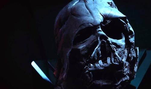 The trailer includes iconic images from the previous Star Wars films / Disney