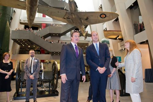 Prime Minister and Duke of Cambridge on hand for reopening of London's Imperial War Museum