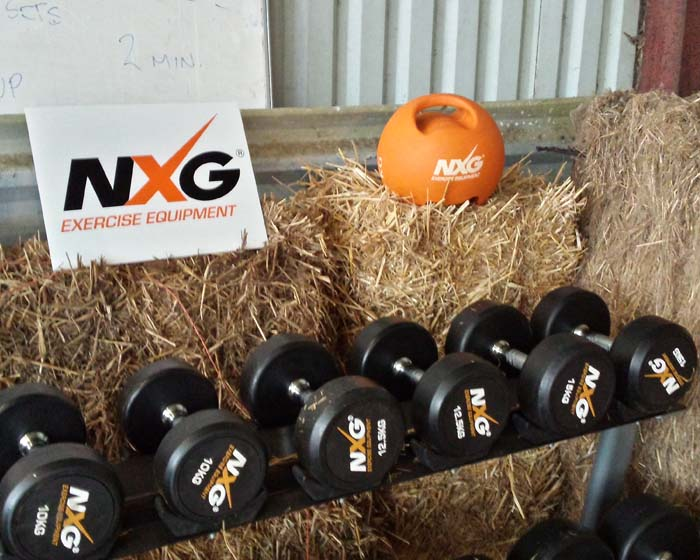 The NXG Exercise Equipment range was launched in 2014