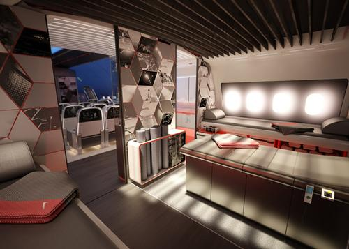 Fit to fly - Nike and Teague team up to create an 'Athlete's Plane'