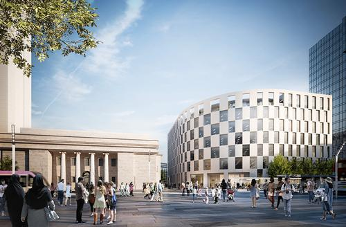 Development continues in Birmingham, UK, as designs approved for first phase of £400m Arena Central