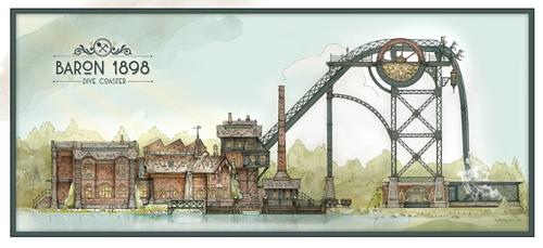Holland's Efteling plans immersive €18m dive coaster