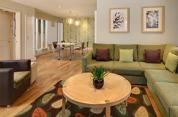 The design of the lodges at Center Parcs' other UK villages has been tweaked for Woburn Forest