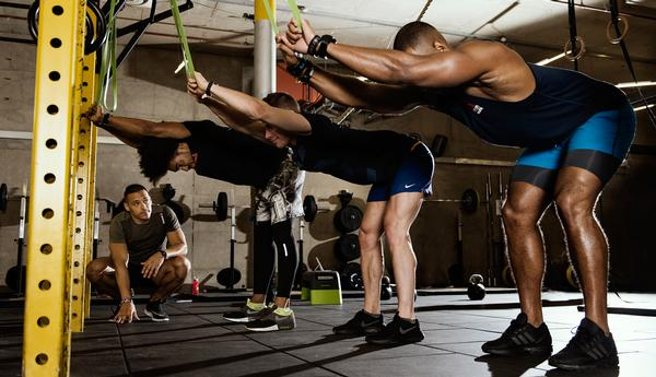 Gymbox members can improve their range of movement