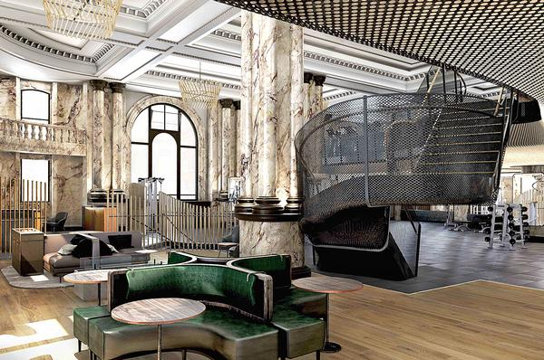 The former bank was transformed  by Woods Bagot and Joyce Wang