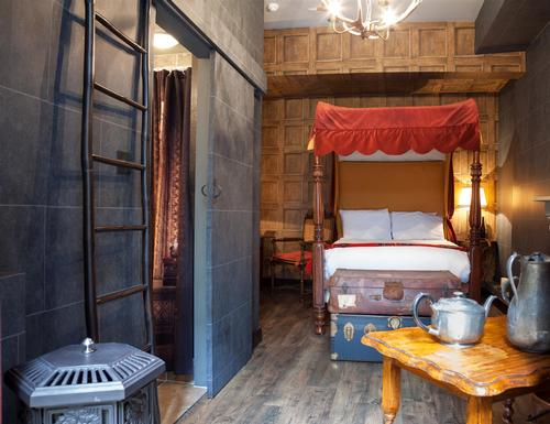 Harry Potter-themed London hotel bewitches guests