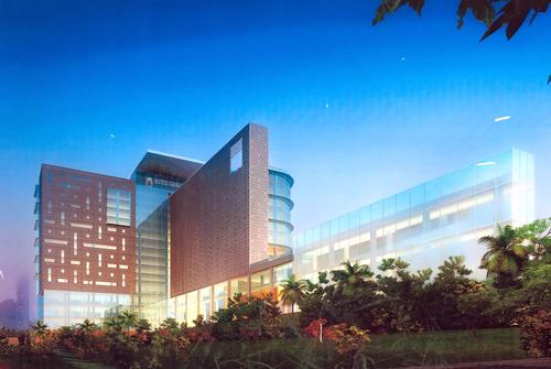 The 277-bedroom hotel is located in the heart of Bangalore / Ritz-Carlton