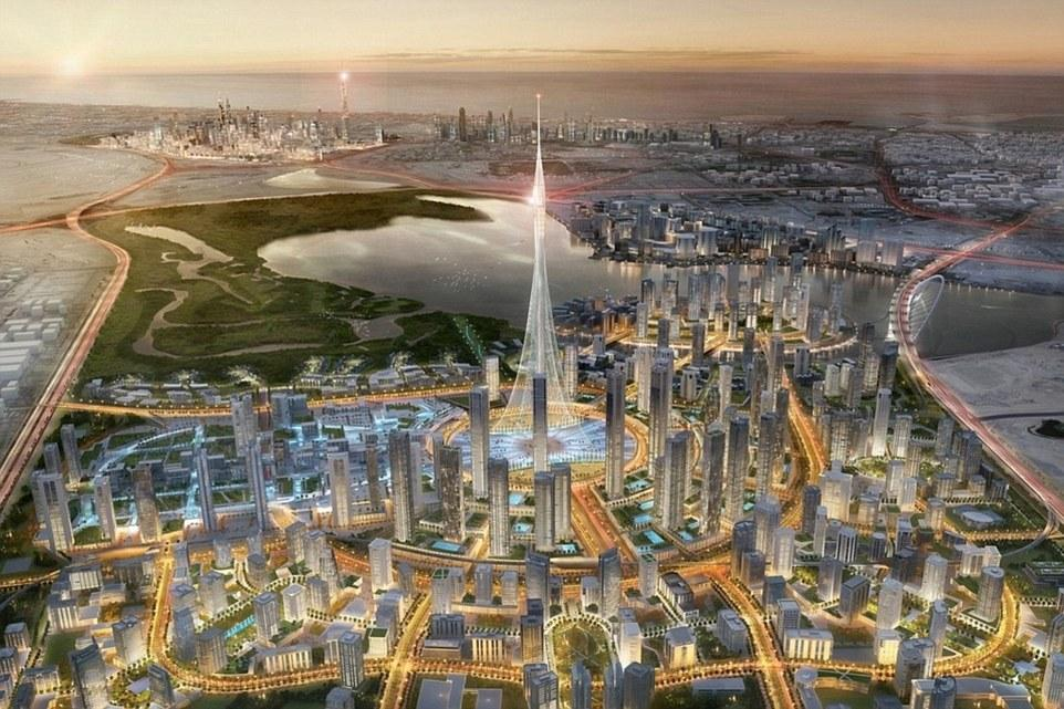 Emaar, who previously built the Burj Khalifa, are determined to put Dubai on the map for its ambitious projects / Emaar Properties