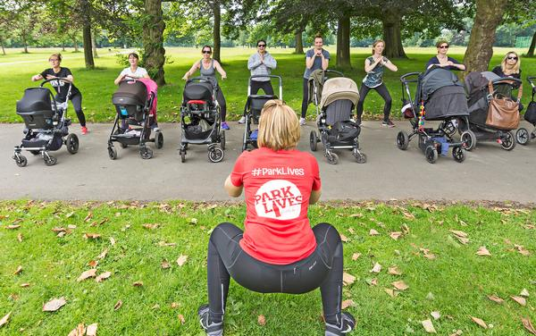 ParkLives helps new mums to overcome social isolation