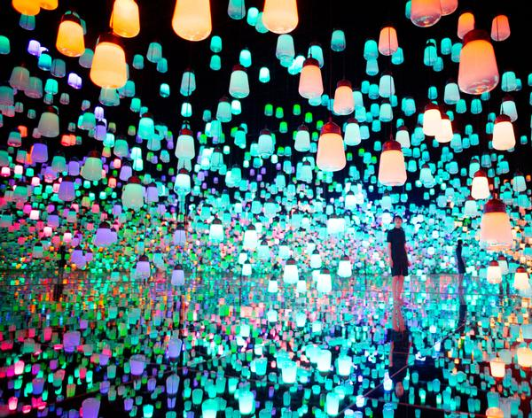 teamLab's first permanent museum will open in Toyko this summer