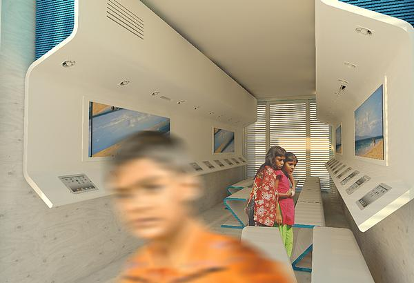 Waterstudio is trialling its floating slum school initiative in Bangladesh