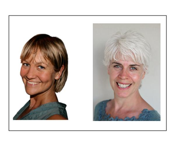 Kate Cracknell and Liz Terry