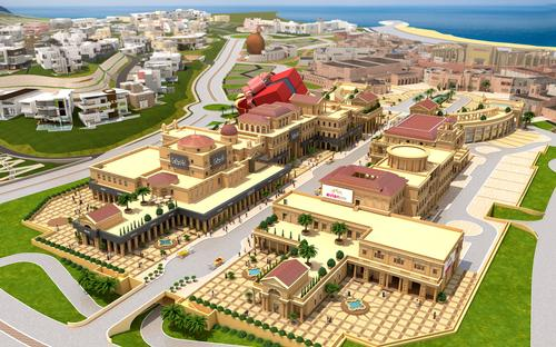 Leyk & Wollenberg Architecture and Atelier GH will lead the design of the evianSpa project / Katara Plaza