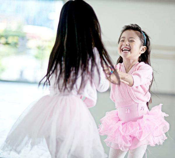 Dance classes are also ideal for engaging very young children / Photo: camilla greenwell