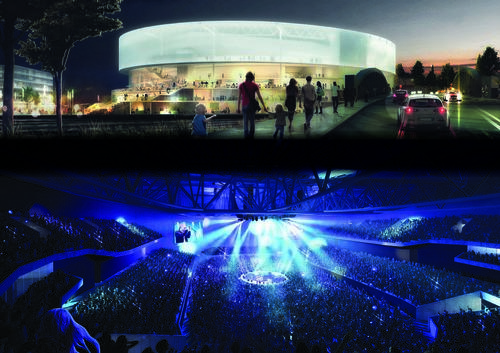 Bristol Arena designs revealed