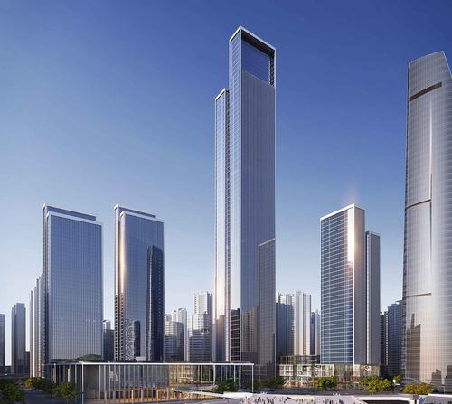 If built, the 400m tower would become one of the world's 30 tallest buildings / Atkins