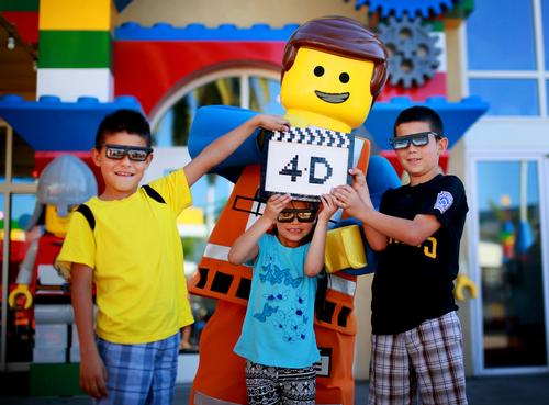 The 4D add on to The Lego Movie will be available at all Legoland theme parks and Discovery Centres / Merlin Entertainments