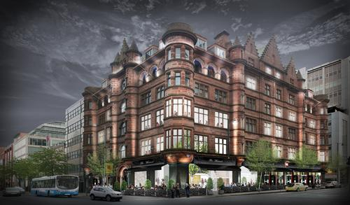 The Scottish Mutual Building will be transformed into a 40-bedroom boutique hotel