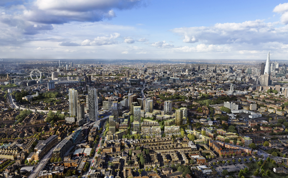 New plans for regeneration of St. Mary's Park in Elephant & Castle