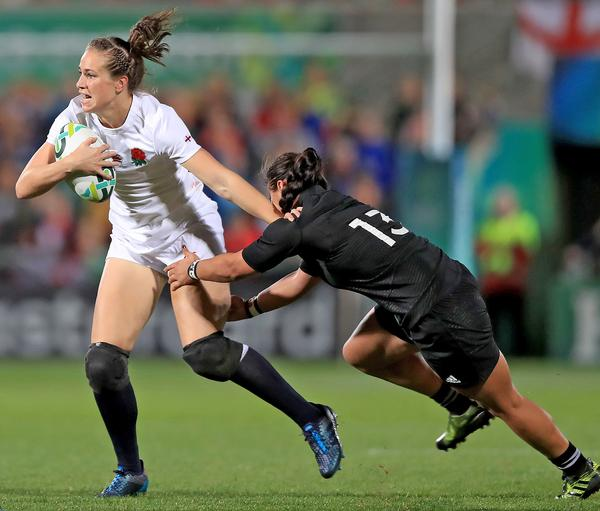 The Women's Rugby World Cup 2017 final was viewed by 2.3 million households / ©  Donall Farmer/PA Wire/PA Images