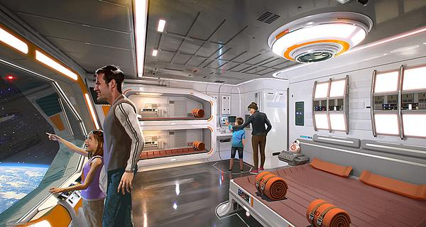 Star Wars: Galaxy's Edge will have a story-led hotel