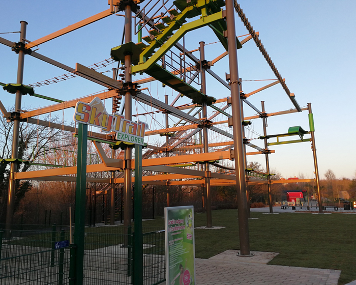 Sky Trail Rope Course opens at Universe Science Park in Denmark