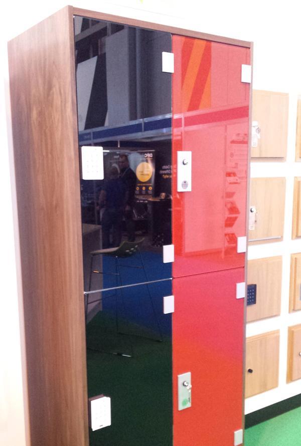 Wooden locker from Safe Space Lockers