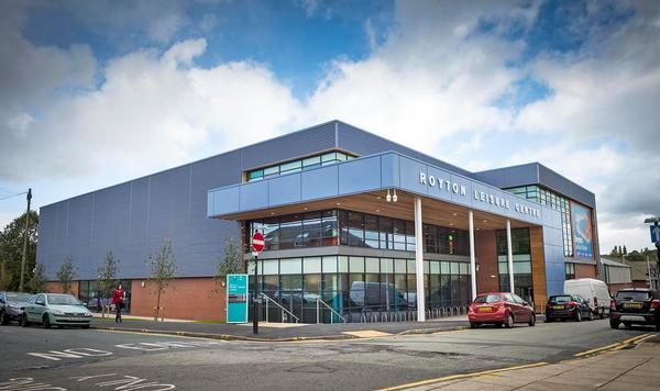 The new Royton Leisure Centre