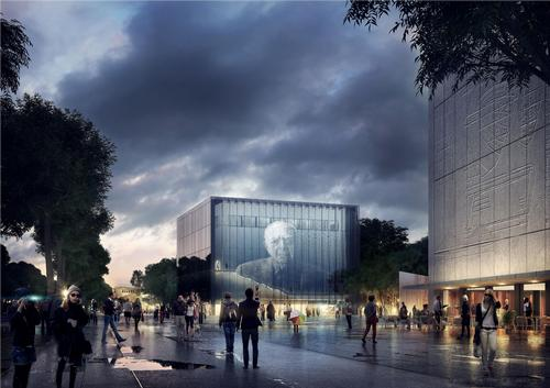 KÖZTI Architects & Engineers have designed both the PhotoMuseum and Museum of Hungarian Architecture / Park Budapest