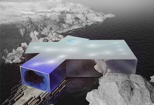 Bulgarian designer unveils innovative concept for diving complex