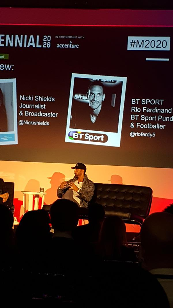 Rio Ferdinand: 'A good following on social media makes you a media channel in your own right'