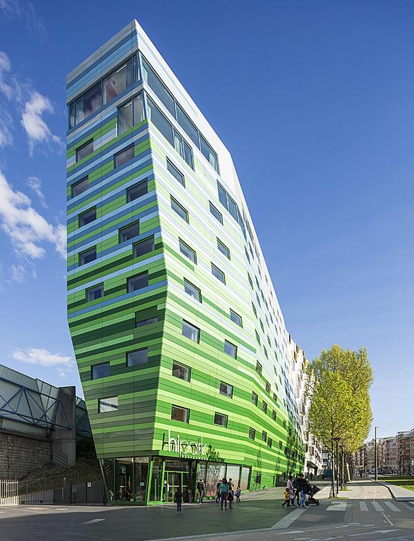 The Hipark Hotel, also in Paris