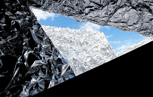 The Aluminati installation was designed to explore Iceland's economic dependence on aluminium