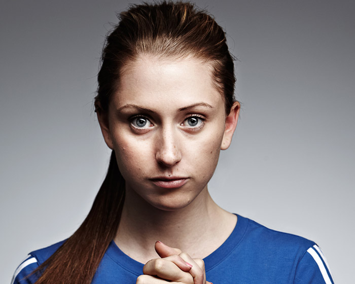 The report says role models – such as double Olympic champion Laura Trott – can encourage women to take up sport, but family and friends play a role too