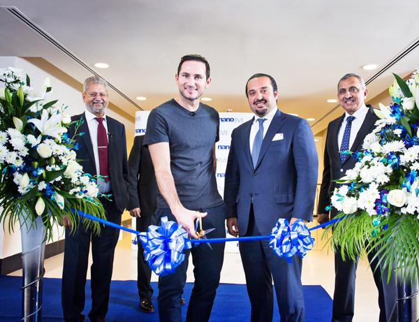 Frank Lampard is partnering with the Emirates Healthcare Group
