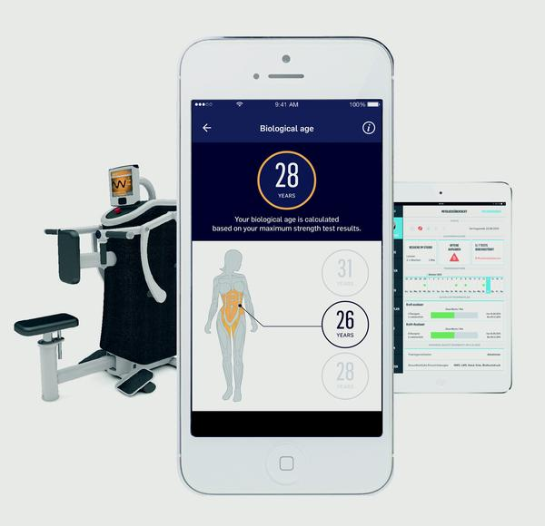 eGym's fully integrated connected training experience