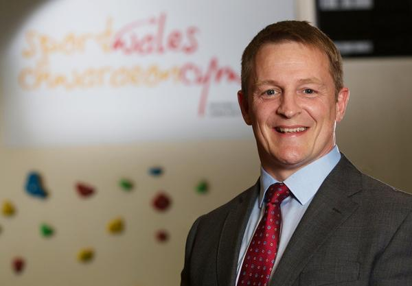 Paul Thomas was appointed as Sport Wales chair in April 2016