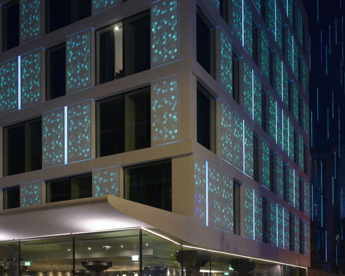 DuPont combines advanced cladding with LED lighting for London first