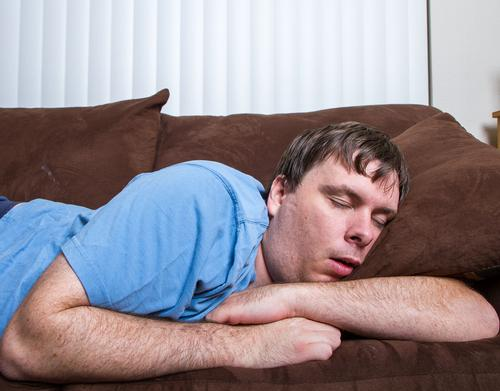 One in five Britons blame their lethargy on lack of time, while 15 per cent admit to feeling uncomfortable going to the gym or swimming pool because they feel too unfit / Shutterstock