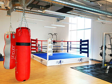 170sq m functional training zone, for firefighters and the local community alike