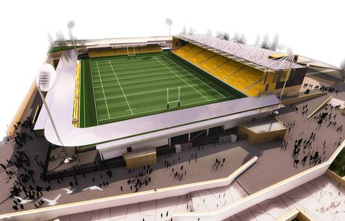 The Stadium of Cornwall will be the new home for Cornish Pirates rugby team