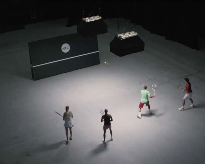 Innovative rebound walls bring tennis to a new audience