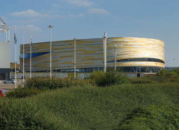 The Derby Arena – playing a part in plans to make Derby the most active city in the UK