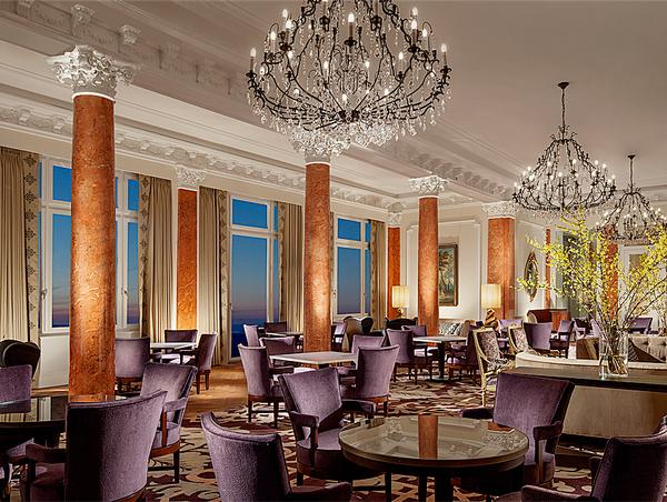London-based architecture and interiors firm MKV Design were responsible for most of the hotel and spa interiors