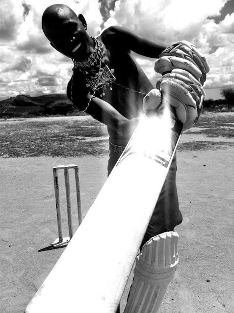 In Kenya, playing cricket has united rival communities who previously raided each other's cattle
