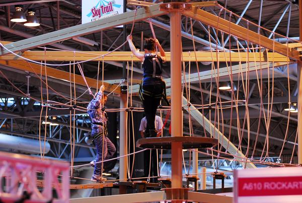 Innovative Leisure and Extreme Adventures will exhibit ropes courses