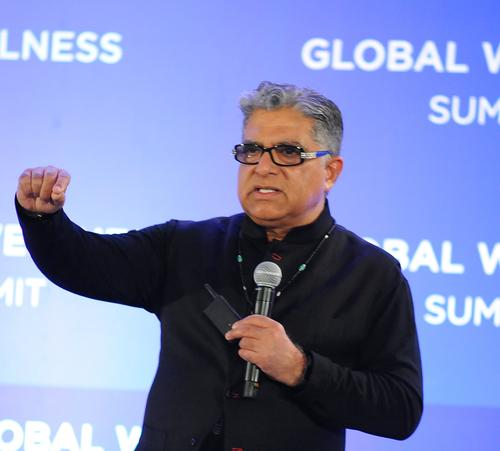You can change your genes, Deepak Chopra tells GWS