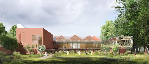 Manchester, UK, garden gallery's £15m revamp nears completion